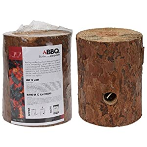 Swedish Torch Fire Log Candle Garden Camping Fishing Indoor Outdoor Lamp Party Light Pit Flame from BBQ