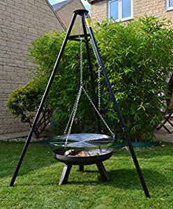 Taotao Chicago Heavy Duty Steel Firepit 60cmwith A Free Multifunction Tool from TAOTAO