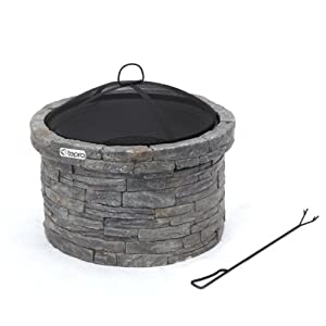 Tepro Gladstone Fire Pit Multi-colour from Tepro