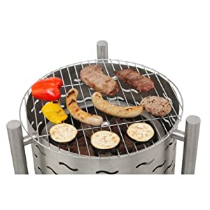 Tepro Silverado 01397 Fire Pit With Grill by Tepro