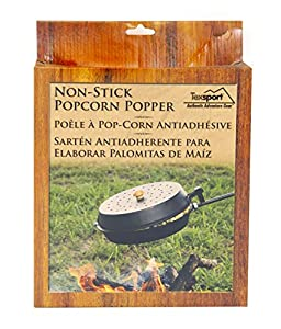 Texsport Non-stick Popcorn Popper For Campfire Fire Pit Cooking by Texsport