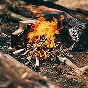 The Chemical Hut 12kg Of Quality Natural Wooden Kindling Ideal For Fire Starting Open Fires Stoves Bbq Fire Pits Home Fires Camp Fires Ovens - Comes With The Log Hut Woven Sack from The Chemical Hut
