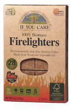 Three Packs Of If You Care Firelighters 28 Pieces from If You Care