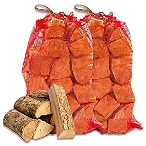 Tigerbox 20kg High Quality Seasoned Dried Softwood Wooden Logs For Firewood Open Fire Stoves by Shop4accessories