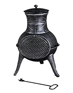 Toledo Wood Burning Chimenea from TAOTAO LIMITED