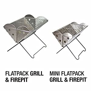 Uco Flatpack Grill And Firepit by Industrial Revolution