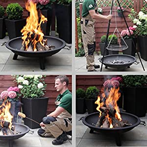 Ultranatura 200100000300 26-inch 65cm Fire Bowl Fire Pit Vulcano from Ultranatura