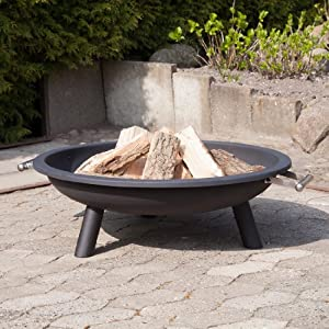 Ultranatura 200100000301 31-inch 80cm Fire Bowl Fire Pit Vulcano from Ultranatura