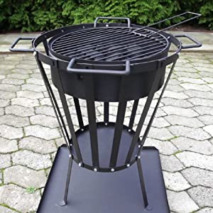Ultranatura 20010000081d Grill Extension Includes Grill Grate For Fire Baskets from Ultranatura
