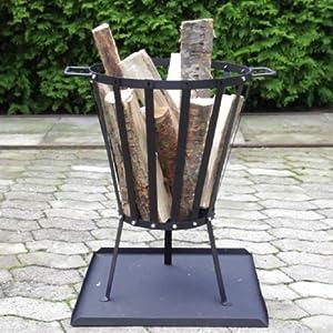 Ultranatura 20010000081f Fire Basket Vulcano Construction Set Includes Ash Collection Tray by Ultranatura