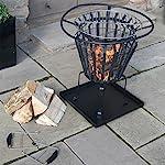 Victoria Fire Basket Meta...