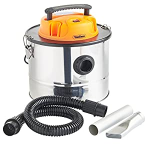 Vonhaus 15l Ash Vacuum Cleaner 800w - For Fireplaces Grills Bbqs Fire Pits Chimineas - Free Extended 2 Year Warranty by VonHaus