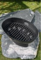 Warrior Stoves Wschboatsm Cast Iron Fire Pit Basket Chiminea Patio Heater from Warrior Stoves
