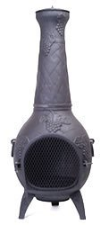 Warrior Stoves Wschgr Fire Pit Basket Chiminea Bbq Patio Heater Large from Warrior Stoves