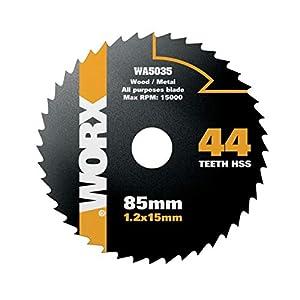 Worx Wa5035 85mm 44t Hss Blade from Positec